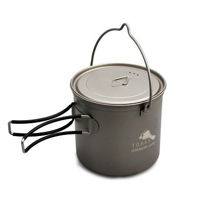 TOAKS Titanium 1100ml Pot with Bail Handle (Titanium Pot Backpacking compare prices)