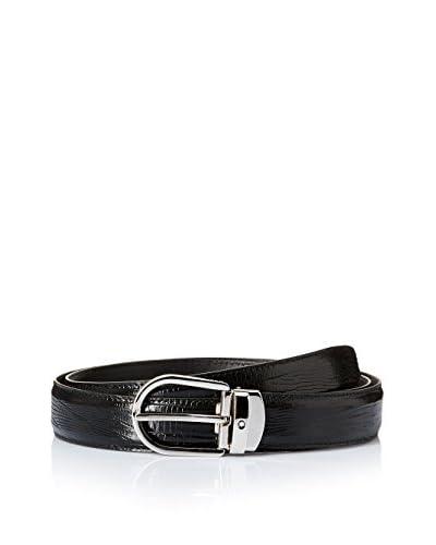 Montblanc Cinturón 112923 Negro