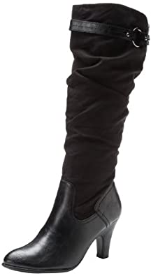 Aerosoles Women's Paperweight Boot,Black,5 M US