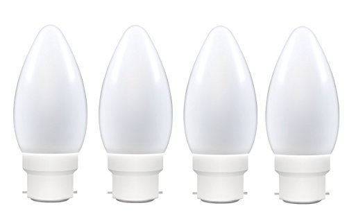 Philips 0.5W Joy Vision Candle LED Bulb (Cool Day Light, Pack Of 4)