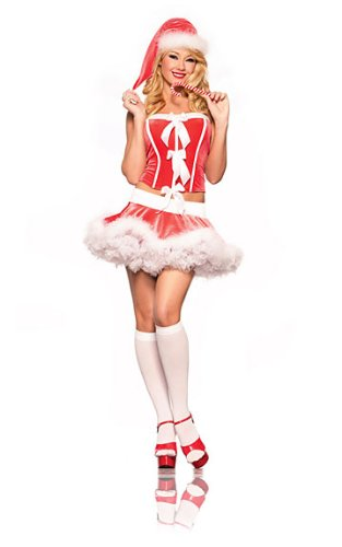 Women's 'Holiday El' Costume
