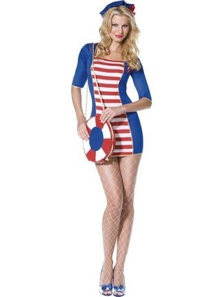 Nautical Sailor – Fever – Adult Fancy Dress Costume