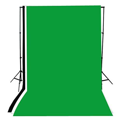 Andoer Photographie de vert noir blanc fond d'écran Kit support en aluminium