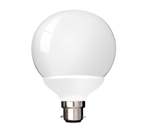 kosnic b22 20 watt energy saving globe light bulb, 8000 hr, warm white Kosnic B22 20 Watt Energy Saving Globe Light Bulb, 8000 hr, Warm White 31DPoDAiR8L