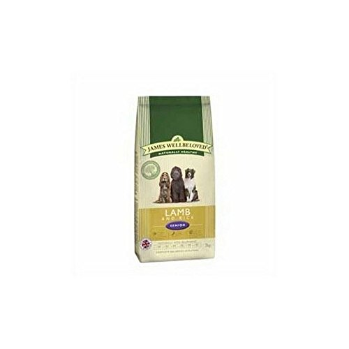 James Wellbeloved Senior Complete Dog Food with Lamb & Rice (2kg) (Iams Puppy Food Lamb And Rice compare prices)