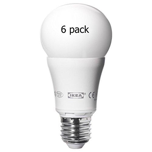 Ikea E26 Led Ledare 600Lm 10 Watt (6 Pack) Dimmable (Replaces Standard Bulb)