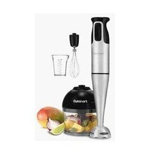 Find Cheap Cuisinart HB-154PC Smart Stick Hand Blender With Whisk & Chopper Attachments - Club M...