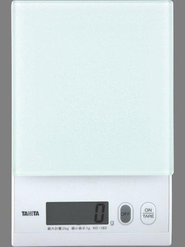 Cuisine num?rique Tanita 2kg ?chelle blanc KD-182-WH21 (japon importation)