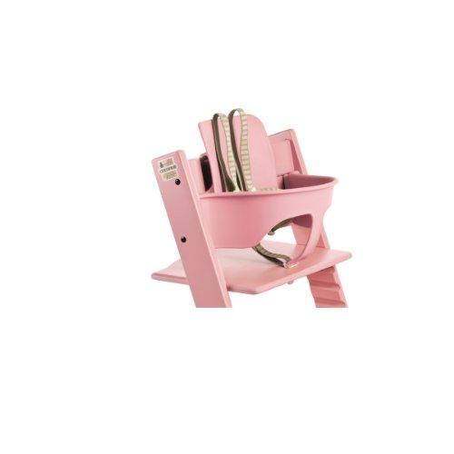 stokke tripp trapp baby set pink dealtrend. Black Bedroom Furniture Sets. Home Design Ideas