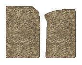 Toyota 4Runner Berber Floor Mats 2 Pc Fronts - Taupe (2010 10 2011 11 )