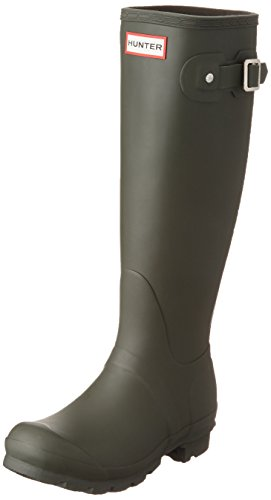 Hunter Original Tall W23499-DOV - Botas para mujer, Dark Olive, 38