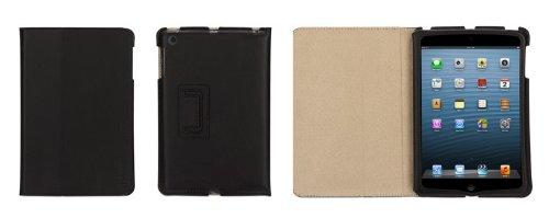 Black/Tan Slim Folio Case For Ipad Mini