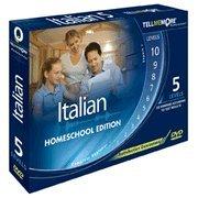 Tell Me More Italian Homeschool Edition (5 Levels)