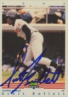 Scott Bullett Carolina Mudcats - Pirates Affiliate 1992 Classic Best Autographed Hand... by Hall of Fame Memorabilia