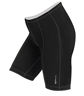 Serfas Reactive Gel Ladies Cycling Short, Black by Serfas