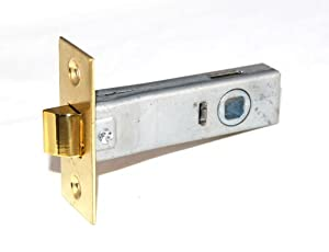 Commercial Brass Passage Mortise Latchbolt With Strike