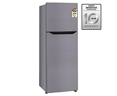 LG GL-A282SPZL Frost-free Refrigerator (255 Ltrs, 3 Star rating, Shiny Steel)