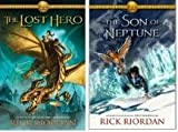 img - for Heroes of Olympus: the Lost Hero, the Son of Neptune Book 1 and 2 Set (Hardcover) together by Rick Riordan book / textbook / text book