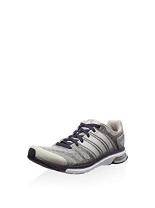 adidas Zapatillas Adistar (Gris)