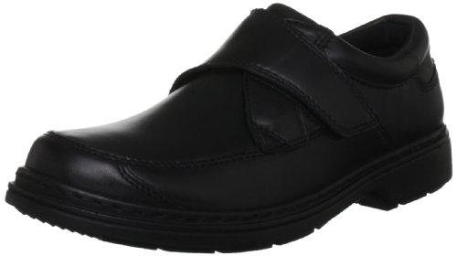 Hush Puppies Men's Shifter Black Leather Slip On H13235000 8 UK, 42 EU