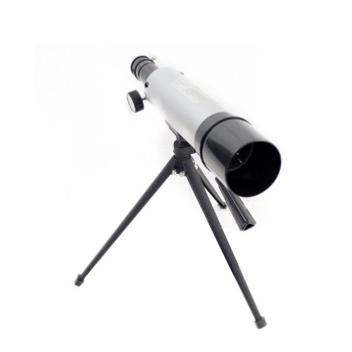 Gsi Super Quality Land And Sky 50Mm Telescope - 180X Power Magnification - Optical Glass Lens And Metal Body - Includes Table-Top Tripod And 2 Eyepieces