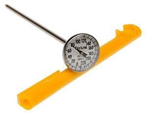 Taylor Anti-Microbial Instant Read Thermometer with 1-Inch Dial