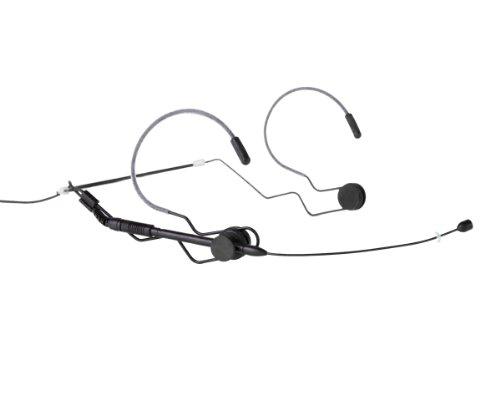 Airwave Technologies Hsd-Slimline+De Ev Black Dynamic Microphone, Omni