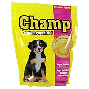Champ Premium Puppy Food 100% Complete & Balanced for Growth, 17oz – Highly Digestible & Helps build strong bones and muscle tissue