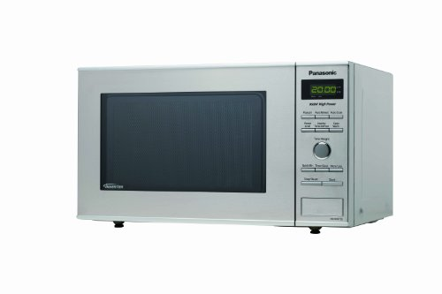 Panasonic NN-SD372S 0.8 cuft 950-Watt Microwave with Inverter Technology, Stainless Steel