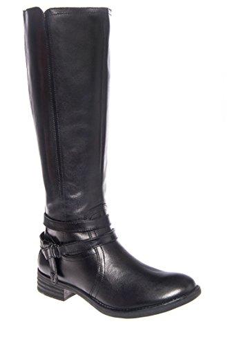 Trapani Low Heel Mid Calf Boot