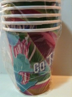 Something to Cheer About Party Supply 9 oz. Cups (8 count) - 1
