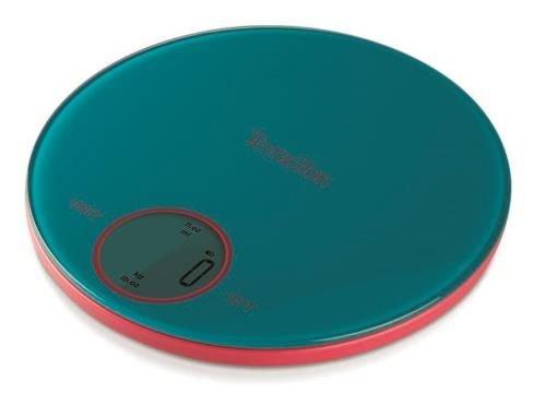Balance de Cuisine Electronique Terraillon Halo Glass Bleu