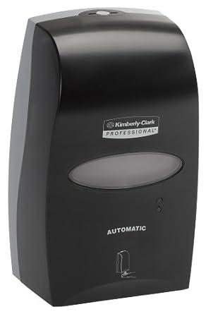 Kimberly-Clark Professional 92148 1200 mL Black Electronic Cassette Skin Care Dispenser