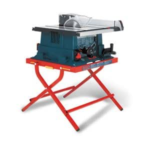 Factory Reconditioned Bosch 4000 07 Rt 15 Amp 10 Inch Worksite Table Saw With Folding Stand