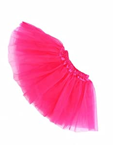 Buenos Ninos Girl's Tutu Assorted Colors (Hot pink)