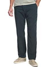 Big & Tall Blue Harbour Pure Cotton Moleskin Trousers