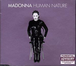 Madonna Human Nature Single Cover
