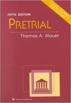 Pretrial (Coursebook)