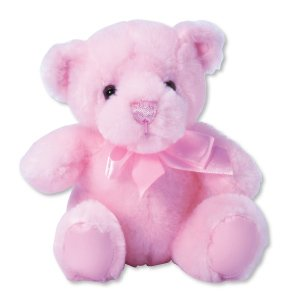 First and Main Teddy Bear Pal, Pink Pastel 6