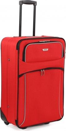 Travelite Viva II 2-Rollen-Trolley 61 cm, rot/grau