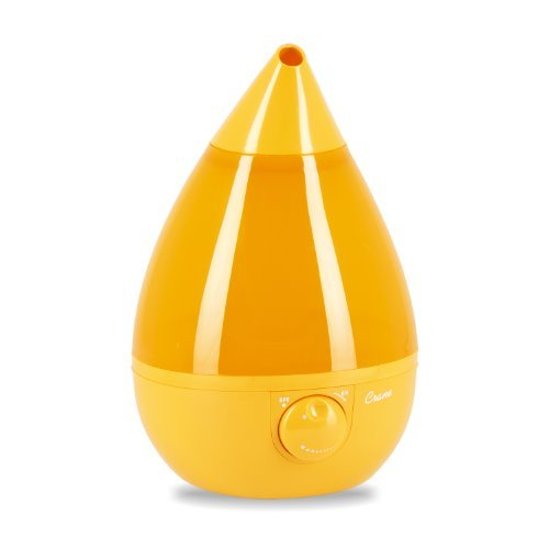 Crane Drop Shape Ultrasonic Cool Mist Humidifier with 2.3 Gallon output per day - Orange by Crane (Crane Orange Humidifier compare prices)