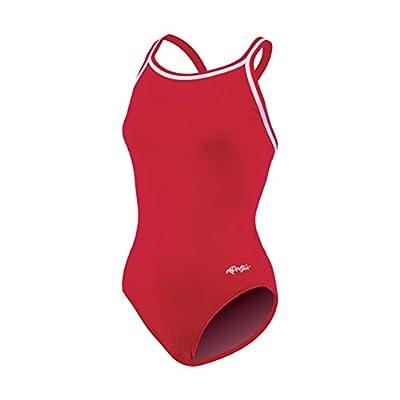 Dolfin Swimwear Solid Dbx Back - Red, 42