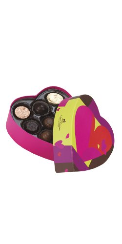 Heart Box of Chocolates - 9 pc.