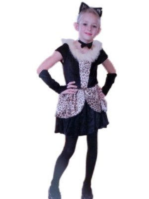 Playful Cat Costume for Girls