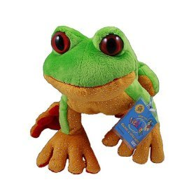 Webkinz Tree Frog with Trading Cards by Ganz