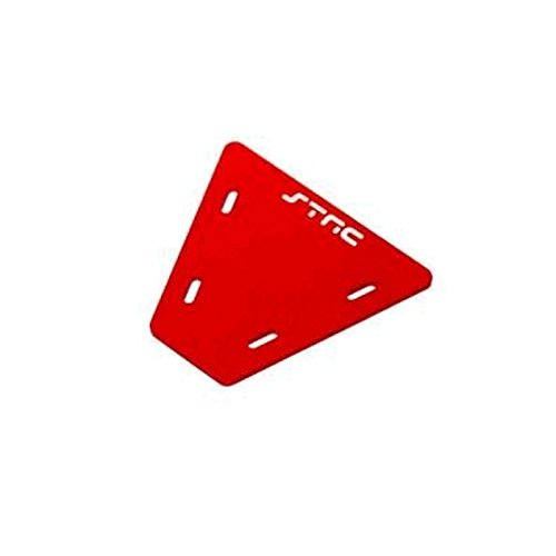 ST Racing Concepts STA30497R Electronics Mounting Plate for The Axial AX10, Red