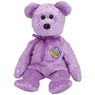 TY Beanie Baby - DECADE the Bear (Purple Version)
