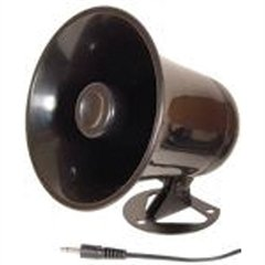 Procomm 5 Inch Pa Horn White Pbs Plastic