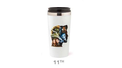 Doctor Who 50Th Anniversary Travel Mug (11Th Doctor)