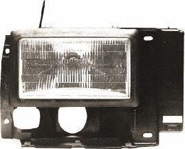 89-92 FORD RANGER HEADLIGHT RH (PASSENGER SIDE) TRUCK (1989 89 1990 90 1991 91 1992 92) 20-1670-00 F1TZ13008C